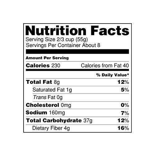 Cat Food Nutrition Labels
