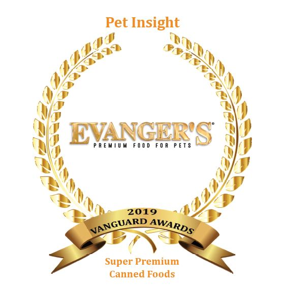 Evanger's Super Premium Canned Dinners Receive Vanguard Award for Innovation