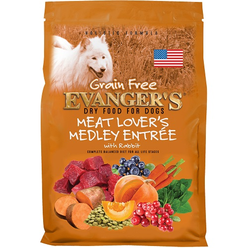 Grain-Free Meat Lover's Medley with Rabbit Dry Food - 33 lb